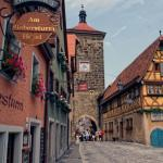 Rothenburg ob der Tauber Half Timber House