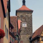 Rothenburg ob der Tauber Tower Siebesturm