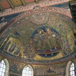 Santa Maria Maggiore Apse Mosaic - Mary and Christ