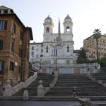 Rome Italy Spanish Steps Quiet Morning