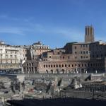 Rome Italy Imperial Forum Panorama