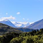 Mt Aspiring from the foothills