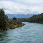 Fiordland National Park - Rain-swollen river